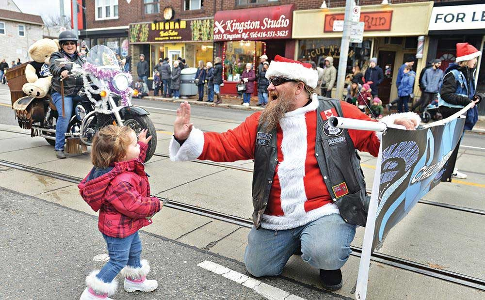 Biker-Santa